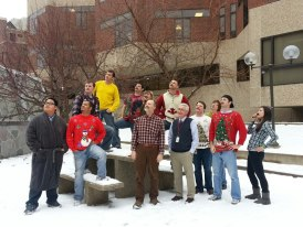 2012 edition of Movember, recognized by profs (yes, that's Dunham, and Swanoski too) and students alike!